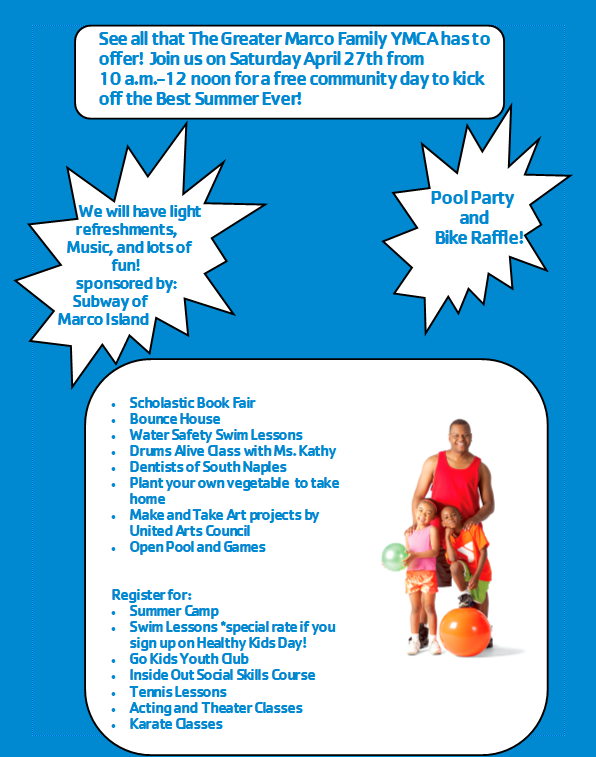 Healthy Kids Day Event Info