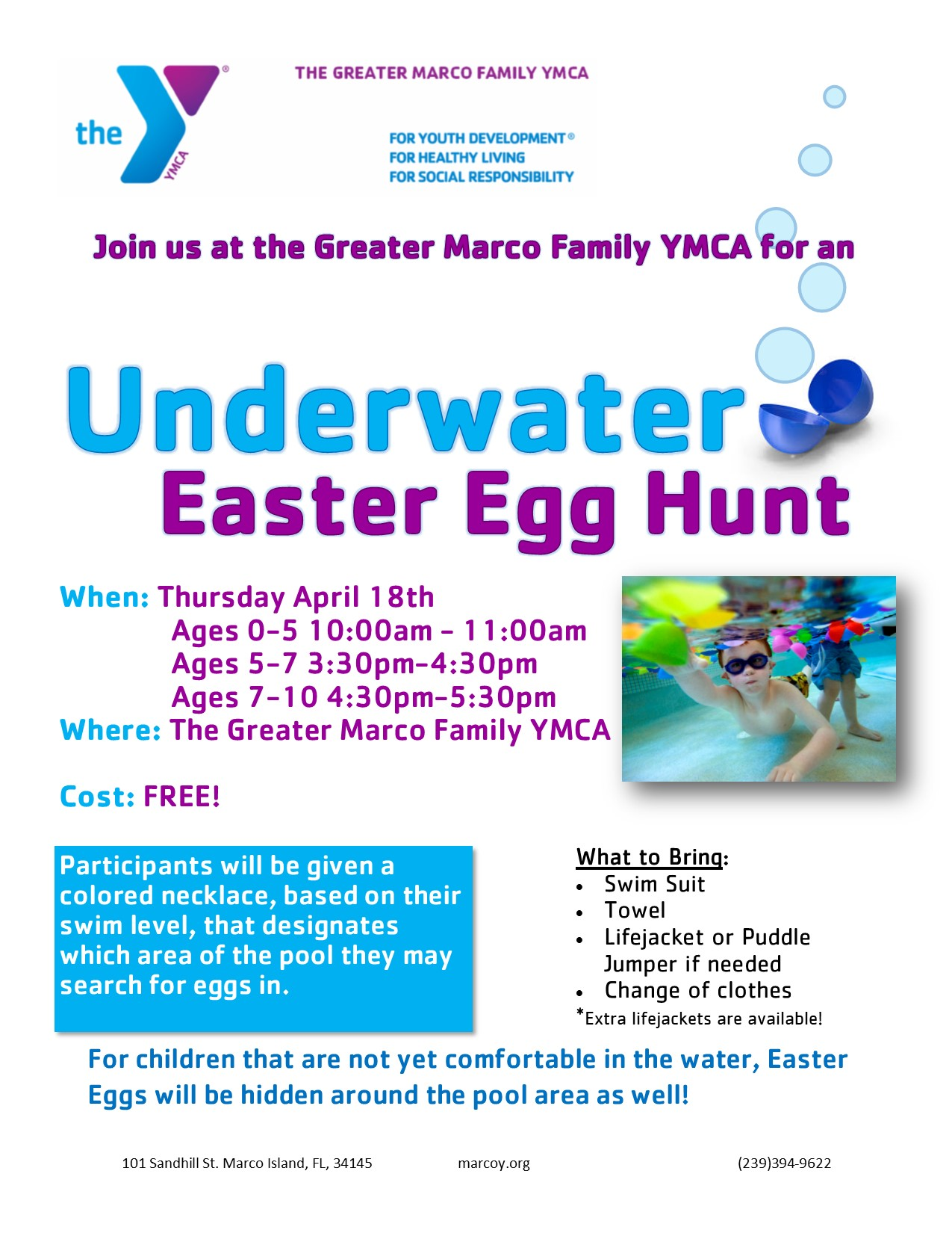 YMCA Easter Egg Hunt